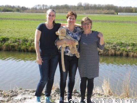 Team Job: Annette Verver (moeder van Job), Esther Roosendaal en Irene de Jong. ((Foto: aangeleverd))