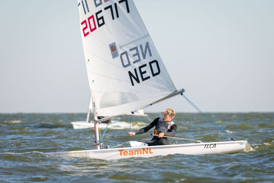 foto: Duko Bos in de Laser (fotograaf Klaas Wiersma)