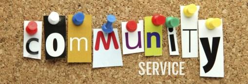 community-service logo
