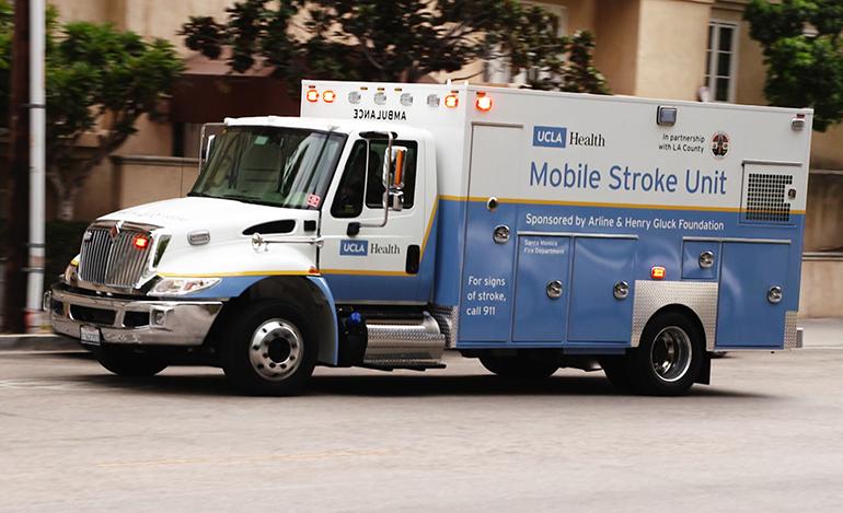 ucla trials ambulance equipped