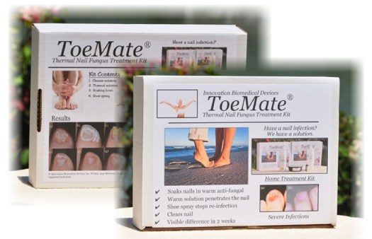 ToeMate Nail Soak Fungus Treatment Kits 2
