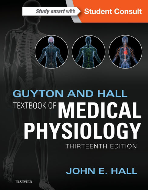 Book Cover: Guyton Hall Textbook of Physiology