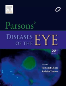 Parsons Ophthalmology PDF