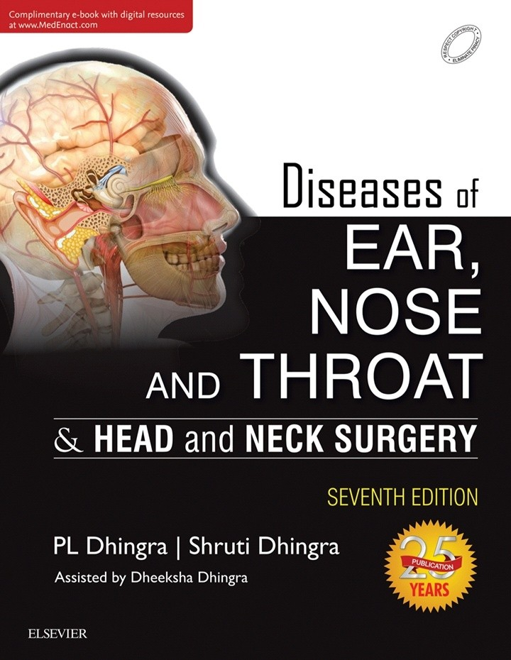 Book Cover: Diseases of Ear, Nose and Throat & Head and Neck Surgery