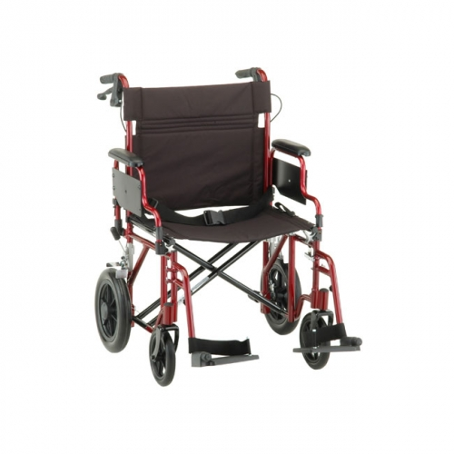 shower chair with wheels and removable arms red swivel office lightweight transport chairs : comet 22