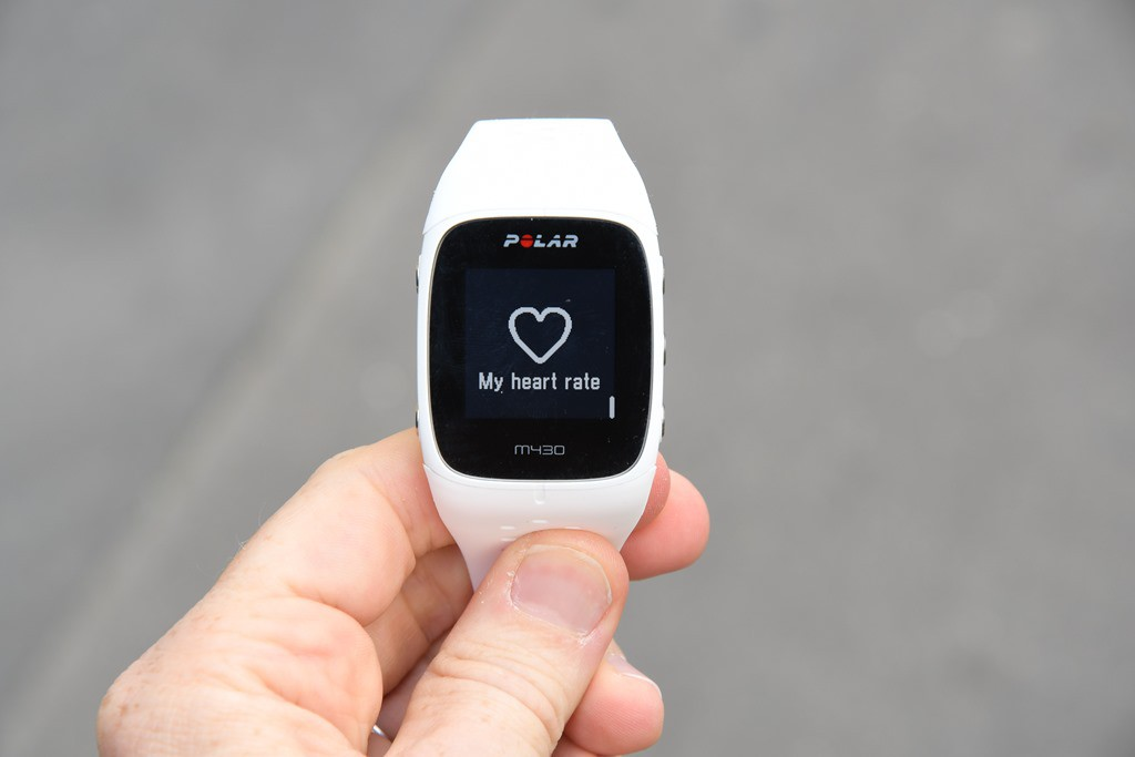 Polar M430 heart rate monitor WHITE