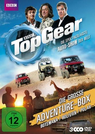 Top Gear - Die grosse Adventure-Box (DVD)