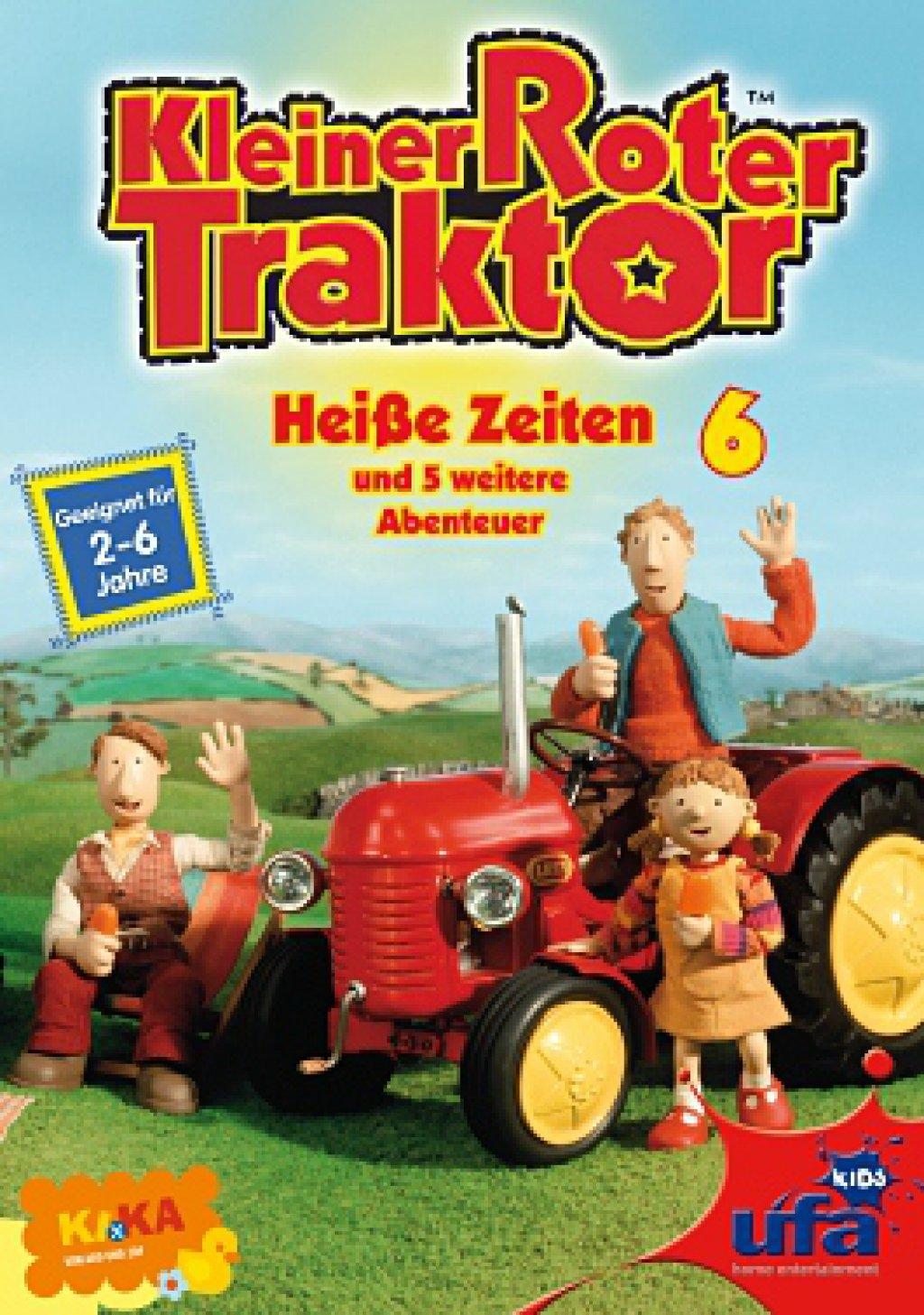 Kleiner Roter Traktor - Vol 06  Heiße Zeiten (DVD)