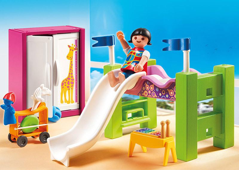 PLAYMOBIL  CITY LIFE  Chambre denfant avec lit mezzanine  5579  pas cher Achat  Vente
