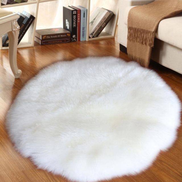 fausse fourrure tapis en peau de mouton