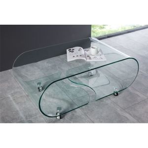 Chloe Design Table Basse Design Casper Ii Verre Cm X Cm X Cm