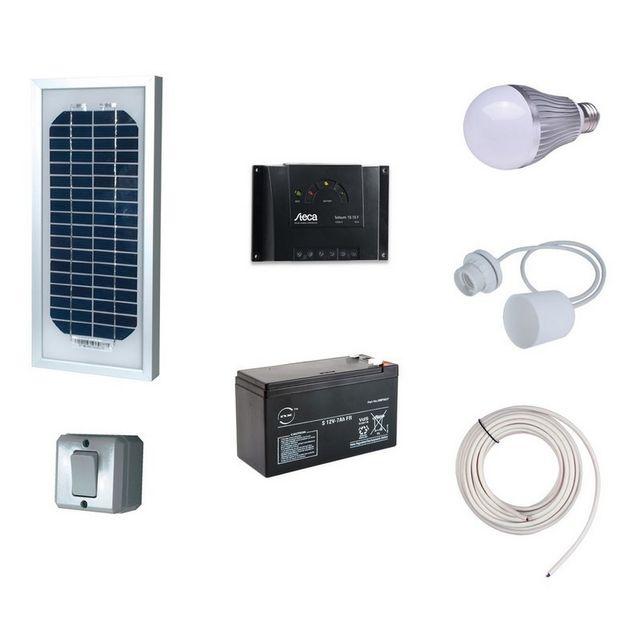 solairepratique kit eclairage interieur solaire 5w