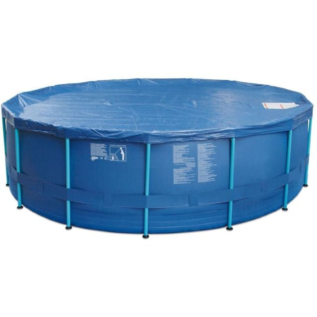 carrefour bache piscine tubulaire o cm