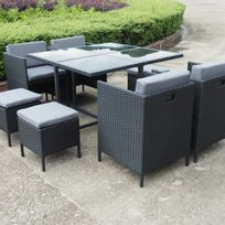 Ims Garden Munga Places Ensemble Encastrable Salon Table De Jardin R Sine Tress E
