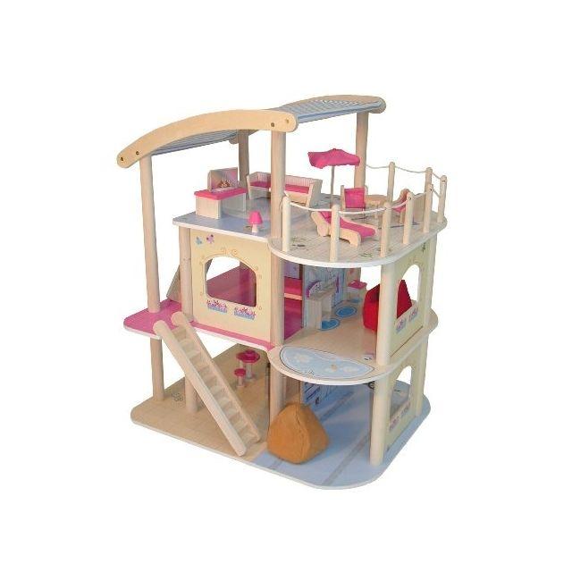 roba baumann gmbh 9456 maison de poupee dollhouse villa