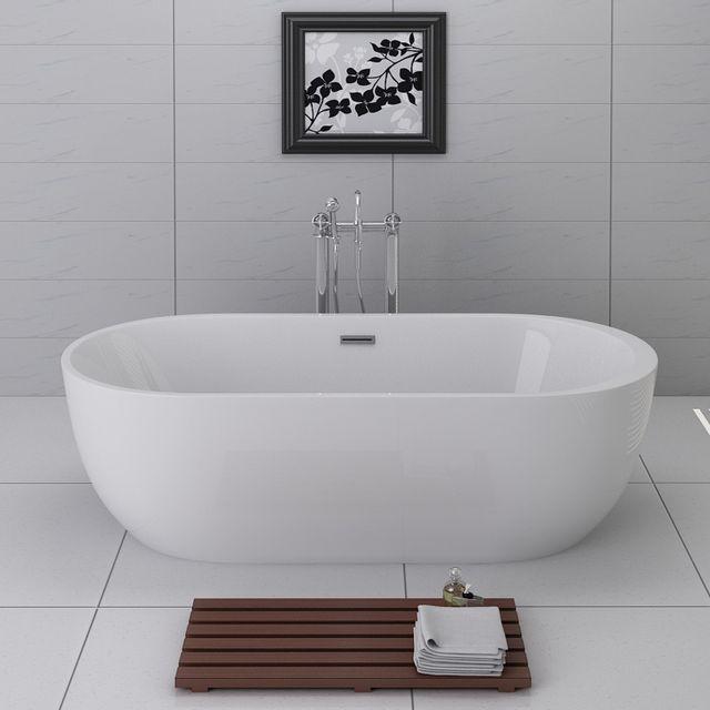 import diffusion baignoire ilot aspen acrylique monobloc
