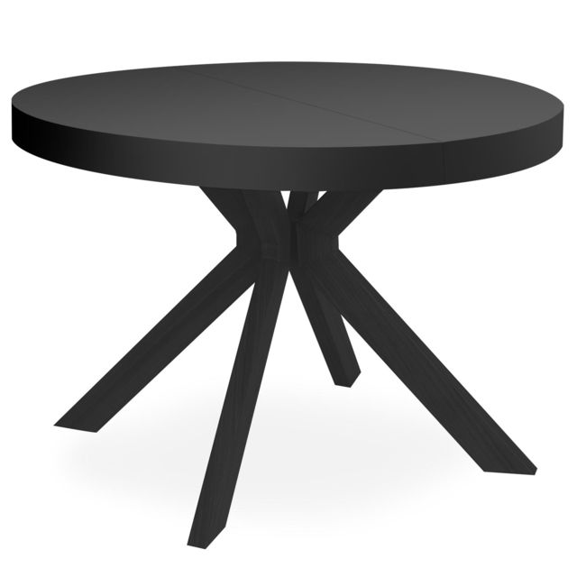menzzo table ronde extensible myriade