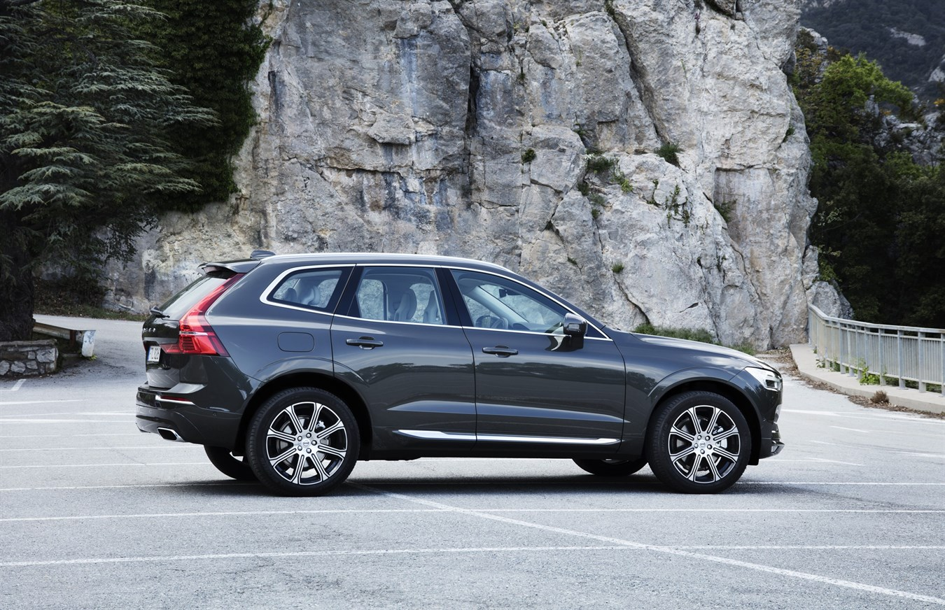 New Volvo XC60 D5 Pine Grey Exterior Design Volvo Car