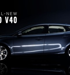 the all new volvo v40 product teaser film 1 03  [ 1280 x 720 Pixel ]