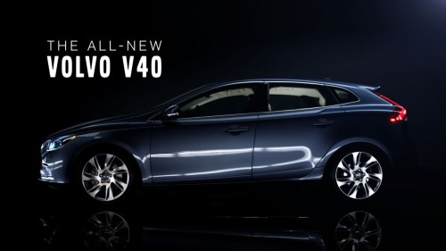 small resolution of the all new volvo v40 product teaser film 1 03