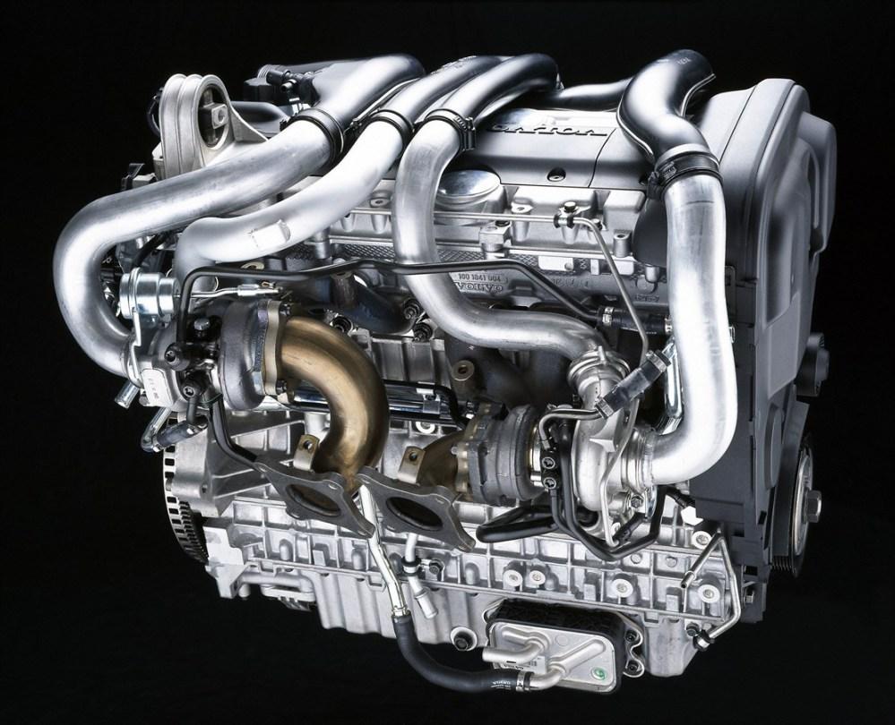 medium resolution of volvo s80 xc90 6 cylinder petrol twin turbo engine 2