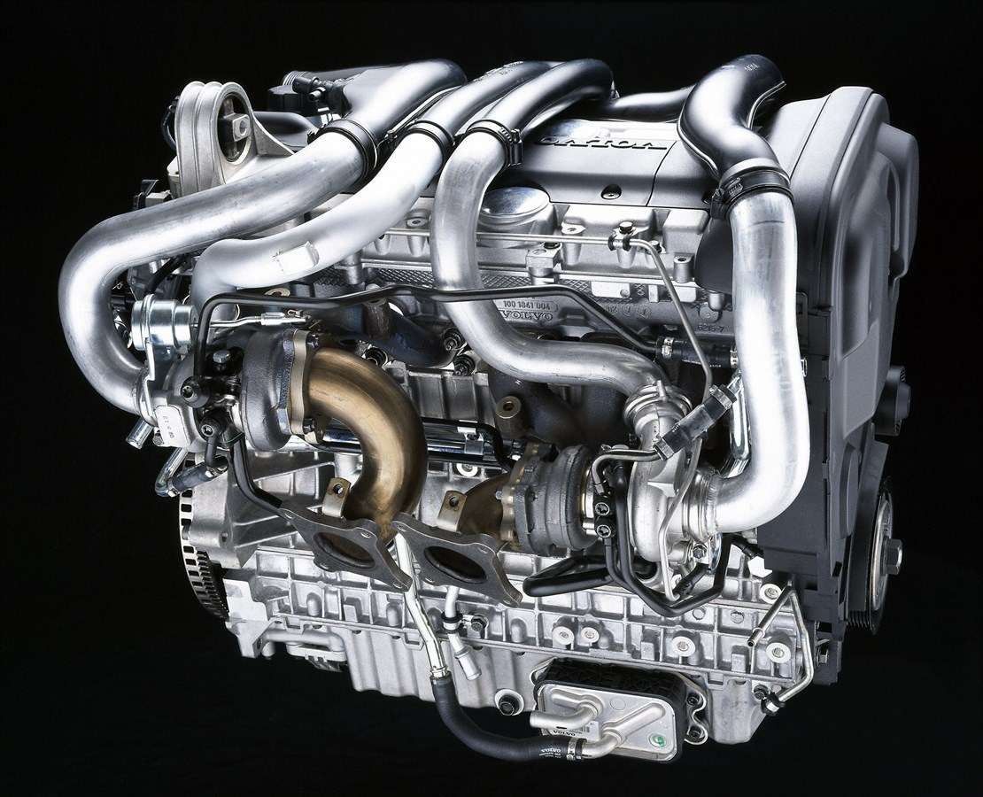 hight resolution of volvo s80 xc90 6 cylinder petrol twin turbo engine 2