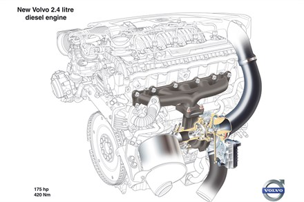 Two new five-cylinder diesels from Volvo: More power and