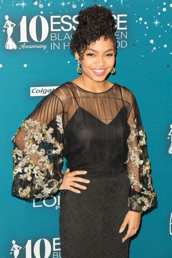 Yara Shahidi in Hollywood Essence Black Women