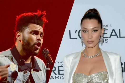 The Weeknd Spotted Leaving Ex-Girlfriend Bella Hadid's ...