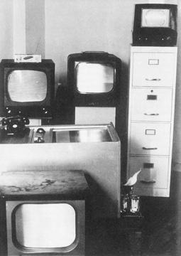 Television Decollage, 1963 (W. Vostell)