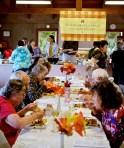 Thanksgiving Day Feast at St. James' Episcopal Church in Waimea.