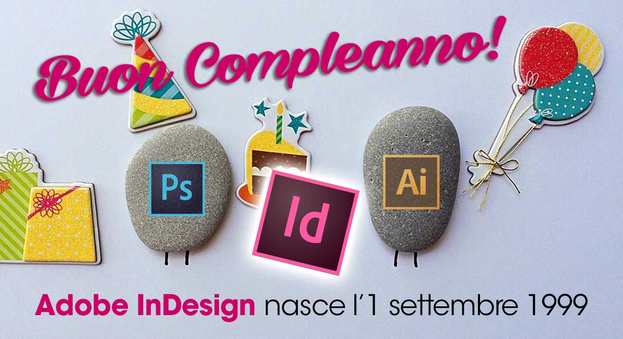 compleanno InDesign