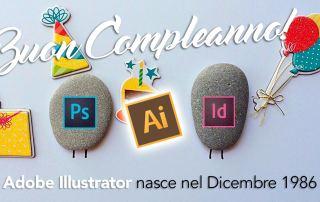 compleanno illustrator