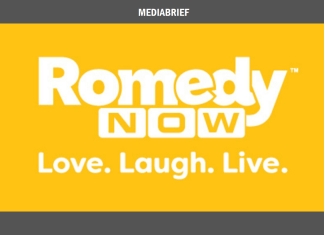 image-Romedy NOW into a new avatar, undergoes a brand refresh Mediabrief