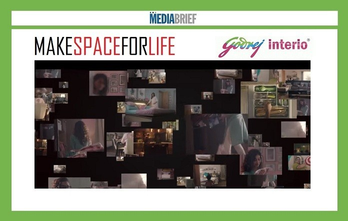 Make Space for Life, says new Godrej Interio TVC campaign 1