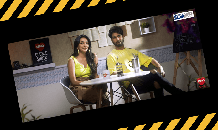 image-SHAHID KAPOOR AND KIARA ADVANI TURN RJ FOR A DAY WITH 104.8 ISHQ Mediabrief