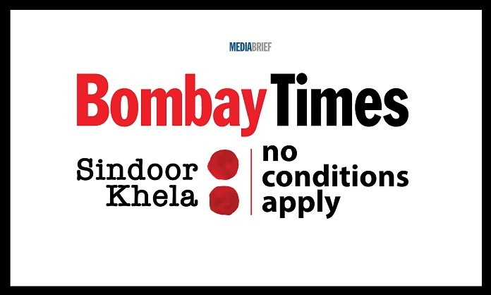image-inpost-NoConditionsApply-TOI-Sindoor Khela No Conditions Apply campaign back 2019 MediaBrief