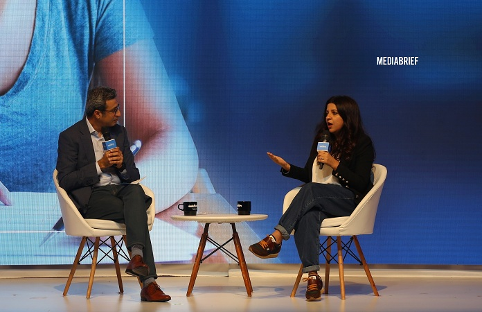 image-Sandeep Bhushan - Director and Head GMS - Facebook India - and Zoya Akhtar discuss reimagining storytelling at the Thumbstoppers Summit-MediaBrief