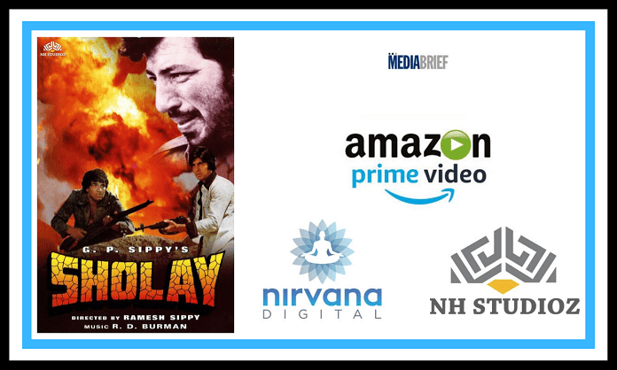 The iconic film Sholay now available worldwide on Amazon Prime Video 1