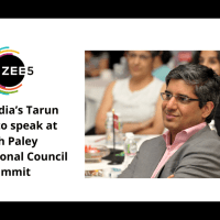 ZEE5 India's Tarun Katial to speak at 24th Paley International Council Summit