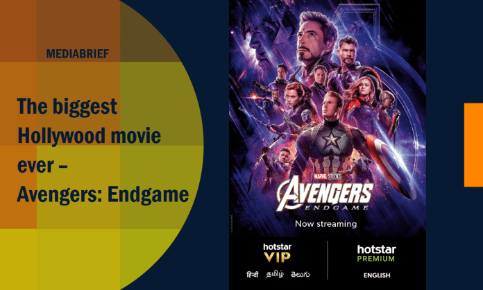 image-Avengers- Endgame, now streaming on Hotstar Premium and Hotstar VIP Mediabrief