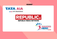 image-Tata AIA Life Insurance & Republic Media Network with Rakshakaran Hero Mediabrief