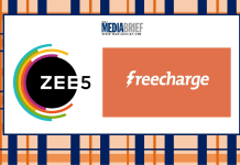 image-ZEE5 partners with FreeCharge to offer entertainment on the go Mediabrief