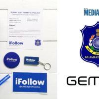 Gemius Design Studio creates interactive campaign 'iFollow' for Surat City Traffic Police