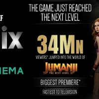 'Jumanji: TNL' simulcast on &flix, Zee Cinema sets 12-month record for Hollywood premieres