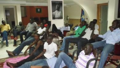 Photo of Sudanese students stranded in Zimbabwe