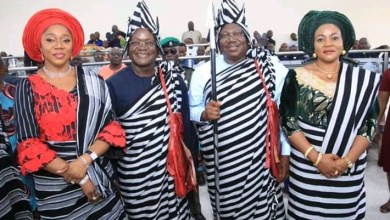 Photo of Senate President decorates with Tiv Attire in Benue