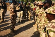 Photo of COAS promotes soldier for courage in war against Boko Haram