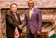 Photo of Gbajabiamila in Japan to discuss fight against insurgency
