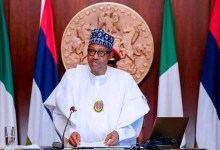 Photo of Buhari attributes David-West for integrity, opposition to corruption